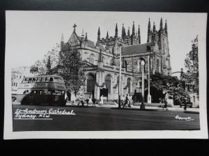 Australia: SYDNEY St. Andrews Cathedral Old RP PC