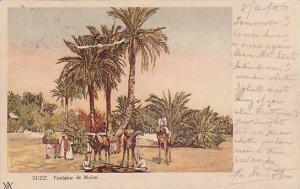 Fontaine De Moise, Suez, Egypt, Africa, PU-1906