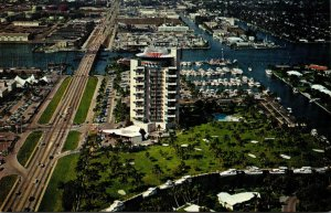 Florida Fort Lauderdale Aerial View Pier 66 Hotel and Marina