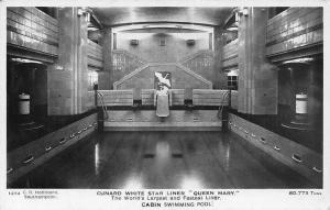 Cunard White Star Liner Queen Mary Cabin Swimming Pool
