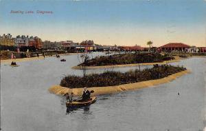 Skegness Boating Lake Bateaux Lac