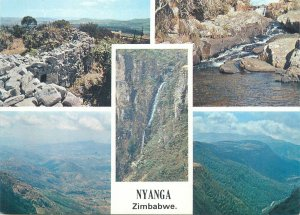 Postcard Zimbabwe Nyanga several aspects