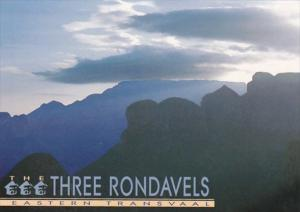 South Africa Eastern Transvaal The Three Rondavels