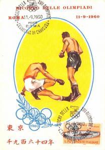 Box, 1960 Olympics - Roma