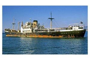 mc4220 - Gibraltar Cargo Ship - Empress , built 1949 - photo 6x4