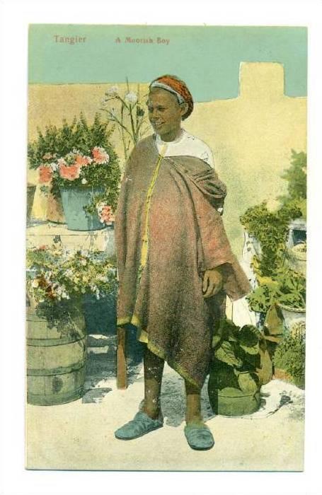 Tangier, Morocco , A moorish boy, 00-10s