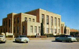Comanche, Texas - The Comanche County Court House - in the 1950s