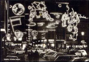germany, ESSEN, 20 Jahre Essener Lichtwochen, Porsche Kanzel (1963) Illumination