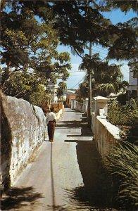 Quaint Old Lane  St George's Bermuda Island Unused