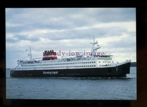 FE2404 - Danish Ferry - Dronning Ingrid , built 1951 - postcard