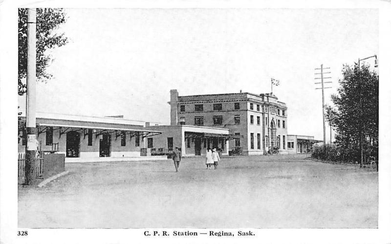 Canada CPR Station - Regina Saskatchewan