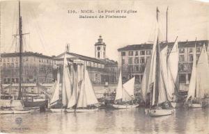 France Nice   Le Port et L´Eglise