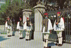 Greece Athens Body Guard In Typical Costume 1972