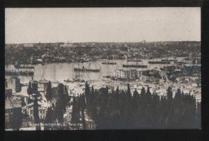 102221 TURKEY Constantinople Corne d'Or Vintage photo PC