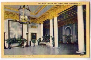Main Entrance, White House, Washington DC