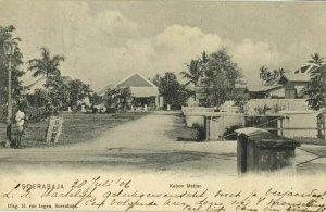 indonesia, JAVA SOERABAIA, Kebon Matjan (1906) Postcard