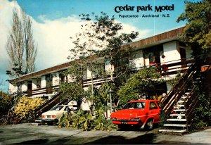 New Zealand Auckland Papatoetoe Cedar Park Motel Tui Road