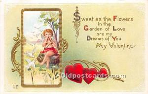 Series V-56 Valentines Day Post Card