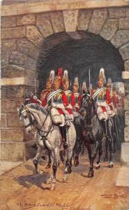 The King´s Guard at Whitehall 2nd Lifeguards