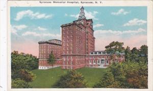 New York Syracuse Memorial Hospital