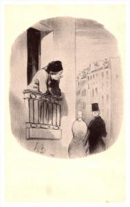 Honore Daumier, I also was young once