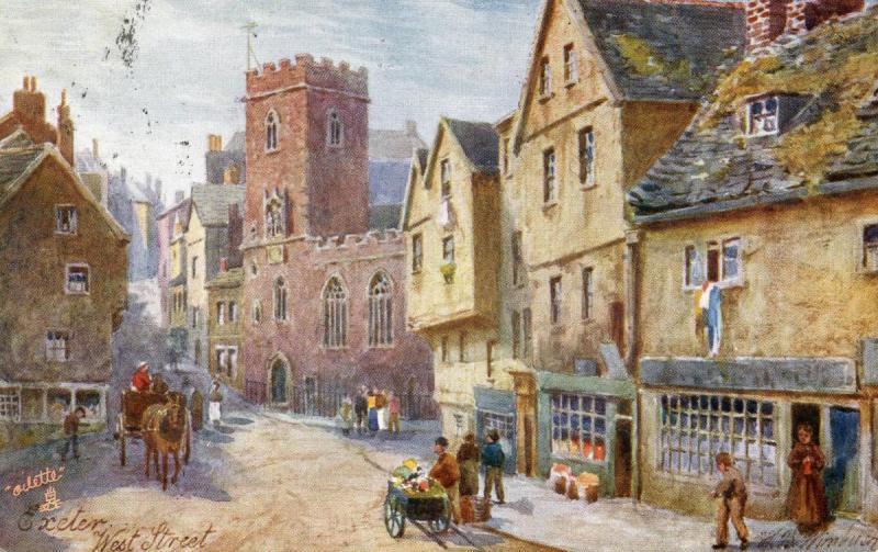 UK - England, Exeter. West Street   *Artist: Wimbush