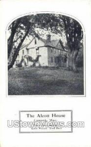 Alcott House Concord MA Unused