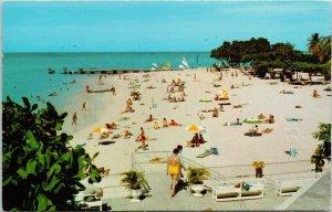 Doctors Cave Beach Montego Bay Jamaica Caribbean Vintage Postcard F52
