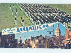 Pre-1980 MILITARY SCENE Annapolis Maryland MD AF7780
