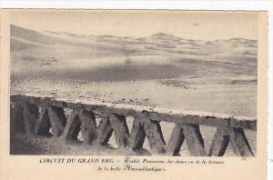 Algeria Circuit Du Grand Erg Koabit Panorama des dunes de la terrasse de la b...