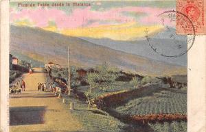 Spain Espana Pico de Teide desde la Malanza