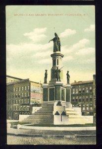 Providence, Rhode Island/RI Postcard, Soldier's Sailor's Monument*, 1908!