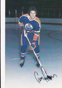 Edmonton Oilers Ice Hockey Player , EDMONTON , Alberta , Canada , 70-80s ;  C...