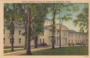 Chipman Memorial Hospital, St. Stephen, New Brunswick, Canada, 30-40s