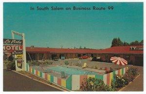 Salem, Oregon, Vintage Postcard View of La Vista Motel