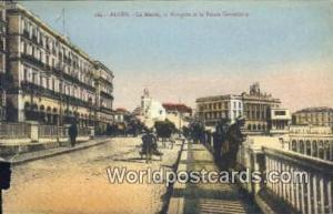 Alger Algeria, Africa, la Mairie, La Mosquee et le Palais Consulaire  la Mair...