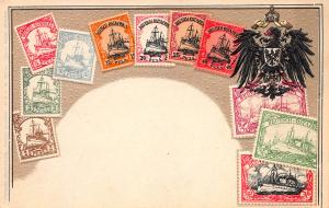 German East Africa, Classic Stamps, Early Embossed Postcard, Unused