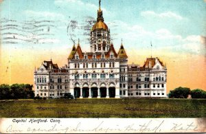 Connecticut Hartford State Capitol Building 1906