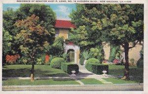 NEW ORLEANS, Louisiana, PU-1935; Residence Of Senator Huey P. Long, No. 14 Au...