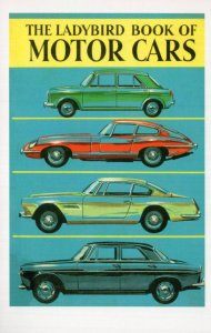 The Ladybird Book Of Motor Cars Childrens First Edn Book Postcard