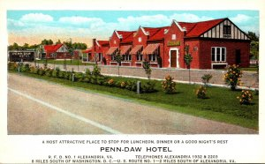 Virginia Alexandria Penn-Daw Hotel