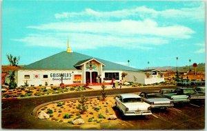 Redlands, California Postcard GRISWOLD'S RESTAURANT Smorgasbord Roadside c1960s