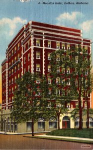 Alabama Dothan The Houston Hotel 1945 Curteich