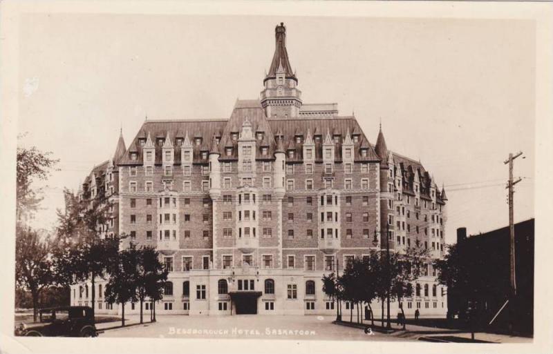 RP, Bessborough Hotel, Saskatoon, Saskatchewan, Canada, 1920-1940s