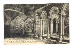 Cloitre De l'Eglise Collegiale Occupant Tout Le Cote Sud De La Nef Romane, St...