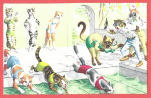 Alfred Mainzer, Inc. - No. 4953 - Dressed Cats