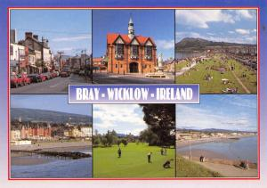 Postcard Bray, County Wicklow, Multiview Ireland, Eire A55