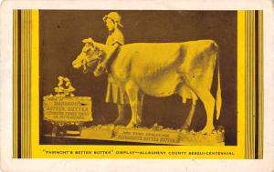 Allegheny County Sesqui Centennial Fairmonts Better Butter Postcard J80757