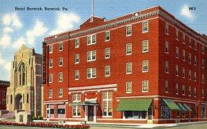 PA - Berwick. Hotel Berwick