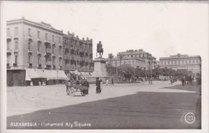 Egypt Alexandria Mohamed Aly Square Real Photo